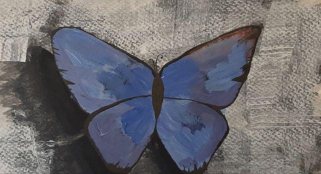 Абстракція метелик акріл