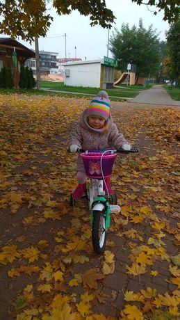 """Sprzedam rowerek KROSS MINI 1.0 12"""" BIAŁY"""