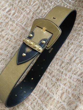 Оригинальный брендовый кожаный ремень ESCADA