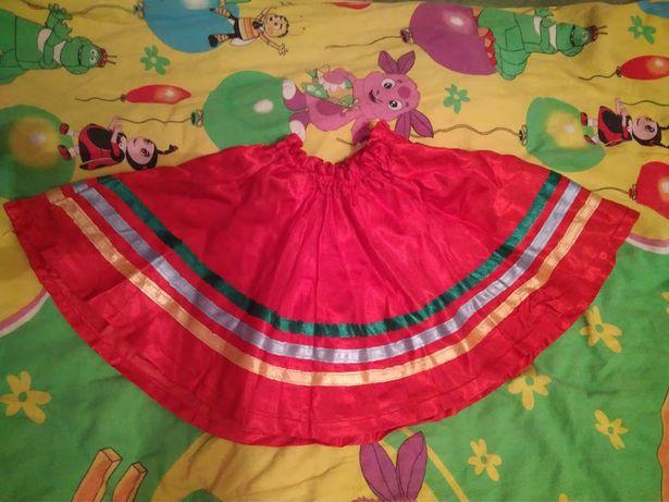 Украинская юбка для девочки 5-7 лет
