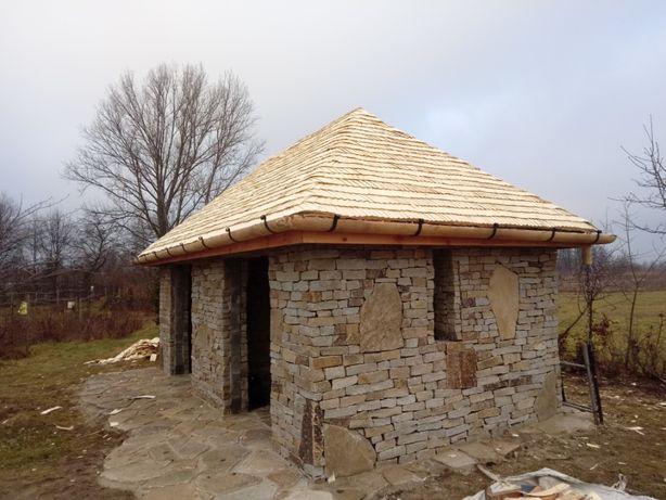 Sprzedaż wióra osikowego - rynny drewniane - dachy z wióra