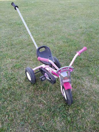 ROWEREK rower trójkołowy Z PROWADNIKIEM łańcuch