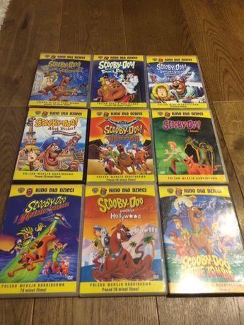 Scooby Doo 9 sztuk filmów pełnometrażowych