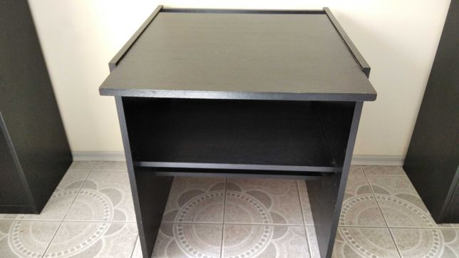 Stolik pod drukarkę czarny