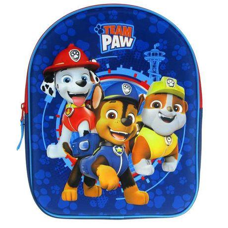 Psi Patrol Paw plecak plecaczek 3D do żłobka, przedszkola, zerówki