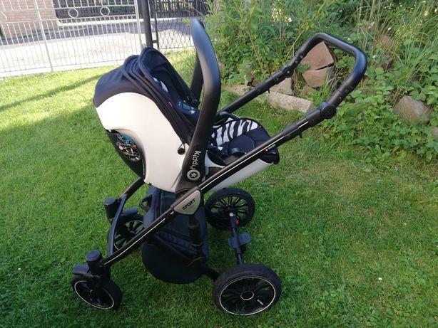 Wózek Anex Sport 3w1, fotelik samochodowy Kiddy evolution pro 2