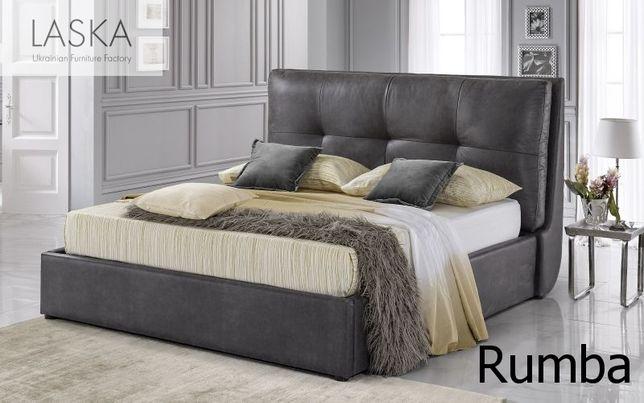 Кровать с мягким изголовьем (ліжко з нішею) LASKA