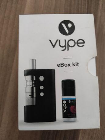 Pudełko po Vype eBox kit .