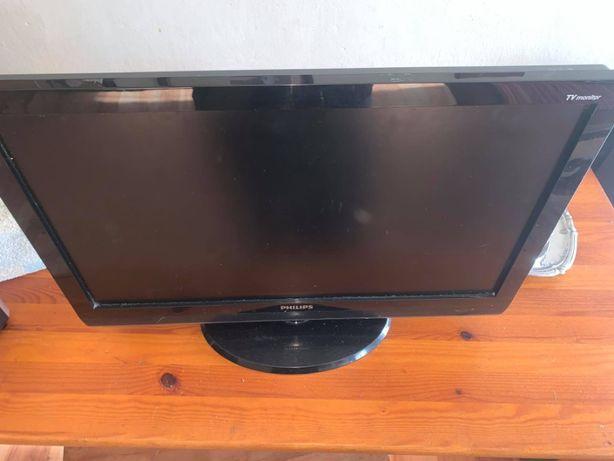 """monitor Tv PHILIPS 22""""IT lcd Działa"""