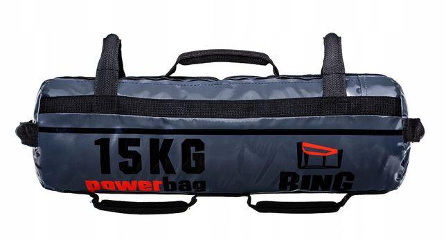 Power bag 15kg domowa siłownia obciążenie
