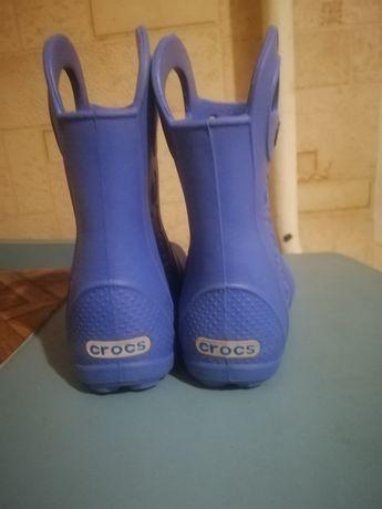 Crocs c 8 крокс резиновые сапоги