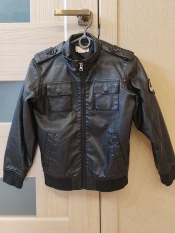 Осенняя курточка для первоклассника Размер - [Длина - 49см, Длина рука