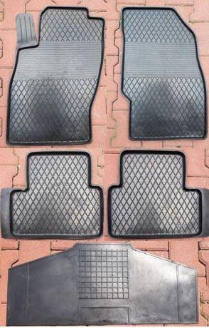 OPEL CORSA D HB-3D 06-14 dywaniki gumowe samochodowe z rantem 2cm