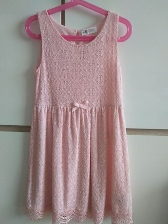 H&M sukienka letnia r.134/140