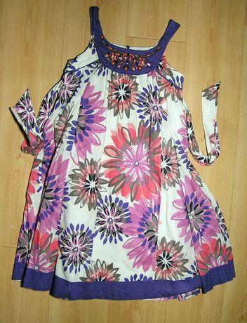 Śliczna letnia sukienka monsoon w rozmiarze 146/152