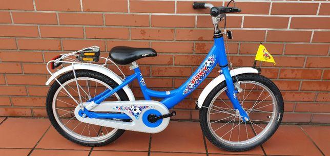 """Rower dziecięcy PUKY Koła 18"""" Niebieski Alu"""