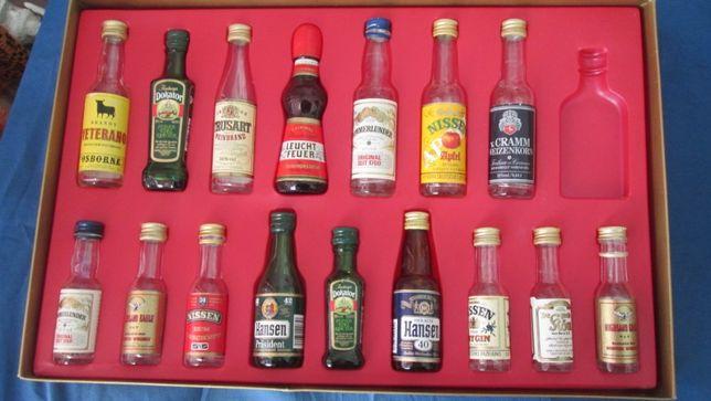 дикоративные бутылочки 16 шт.