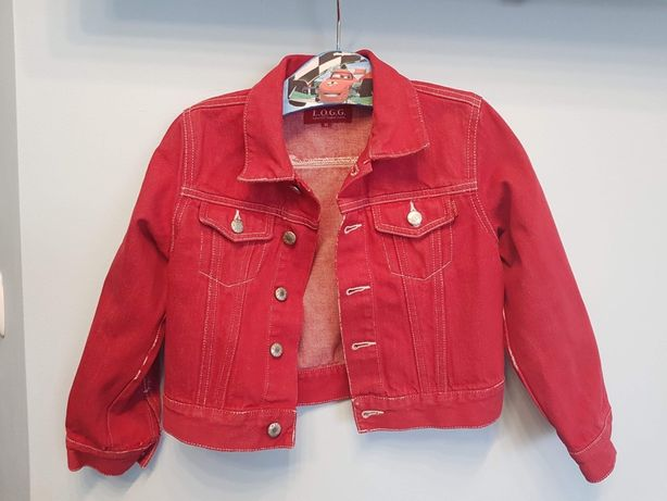 Kurtka jeansowa dla dziewczynki H&M 116cm