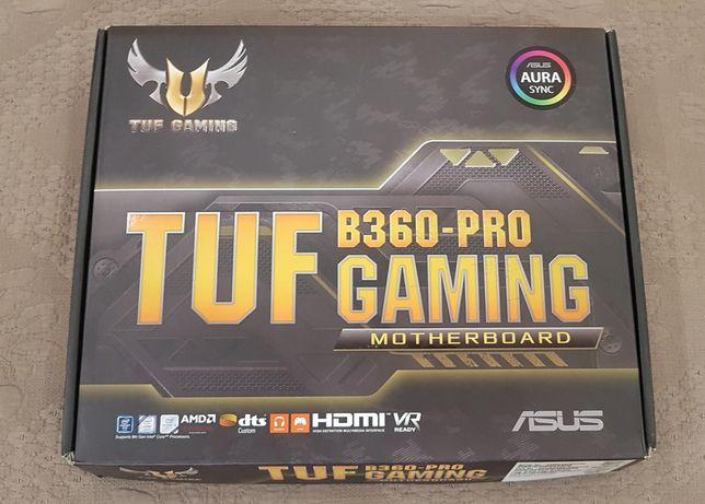 Геймерська материнська плата Asus TUF B360-PRO Gaming