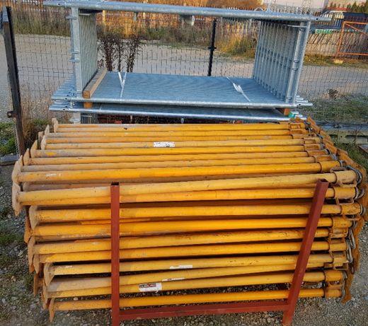 Stemple budowlane Sztyce Szalunki Podpory Dźwigary H-20 Rusztowania
