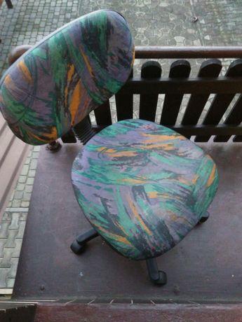 Krzesło obrotowe tapicerowane do biurka