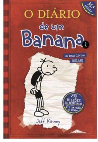 Coleção Diário de um Banana vol 1 ao 13