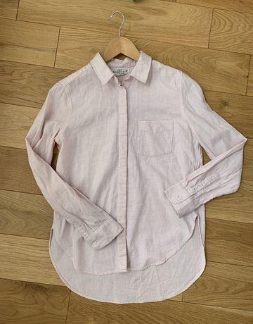 H&M hm r. XS koszula ciążowa bluzka koszulka pastelowy rozowy babypink
