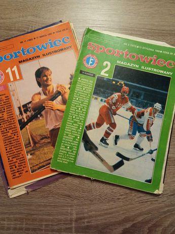 Gazety Sportowiec rocznik 1989