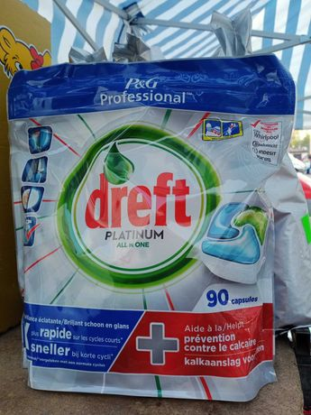 Kapsułki do zmywarki Dreft Platinum 90szt