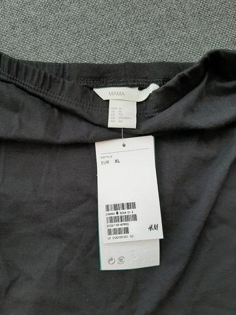 Nowe leginsy ciążowe H&M rozm. XL czarne długie