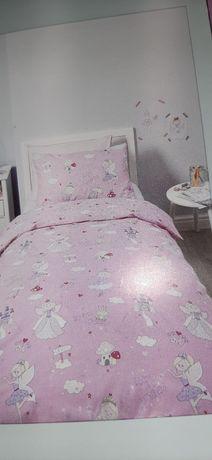 Pościel dla dzieci wróżki żabki księżniczki 160x200
