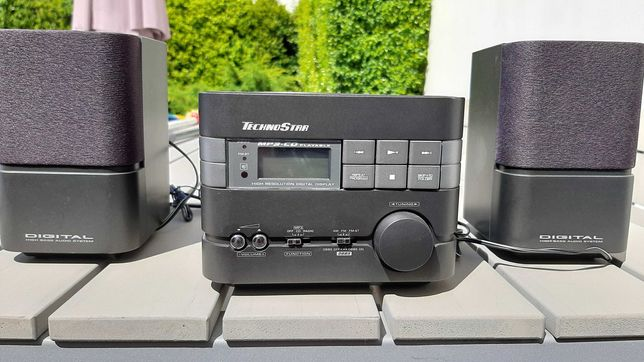 Mini Hi-Fi Technostar (Rádio / MP3 / CD)