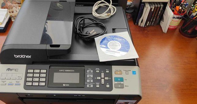 Impressora A3 Brother pouco uso