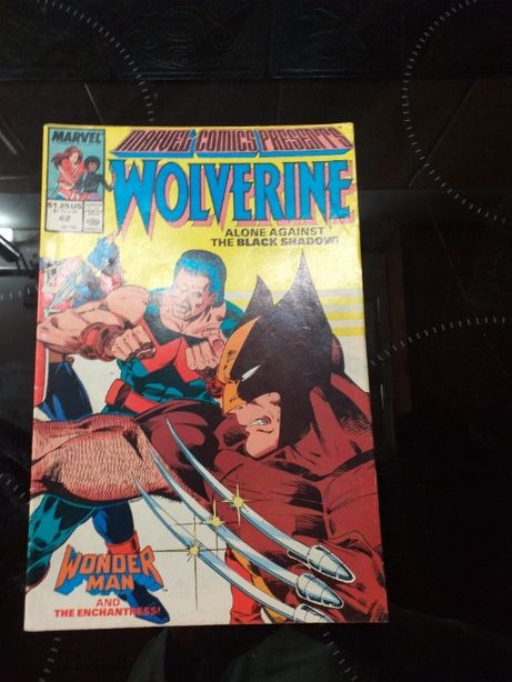 Marvel Volverine komiks Nr 42/89