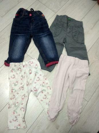 Бесплатно штанишки и джинсы для девочки