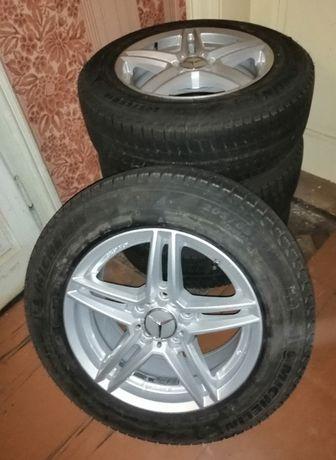 Диски KBA R16/5x112/7.5J/ET45,5/DIA66.6 з шинами Michelin X-Ice XI3