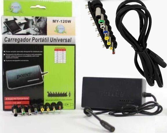 Универсальная зарядка для ноутбуков от Сети 120W