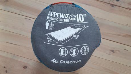 Saco cama Quéchua Arpenaz 10 organico