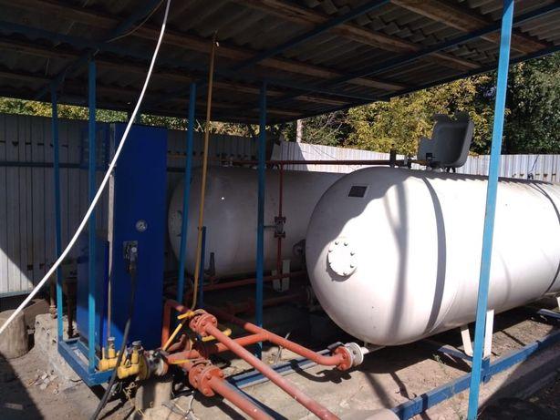 Продам 20м3 газовою заправку АГЗП
