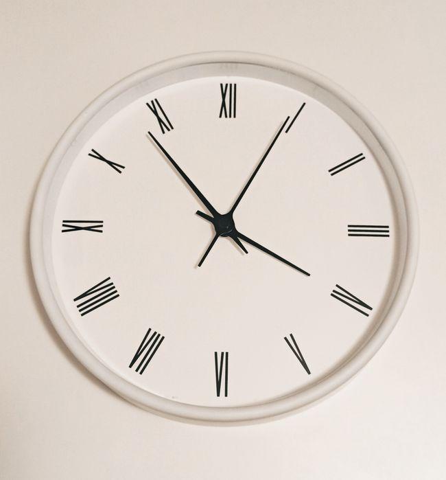 Zegar ścienny biały na baterię (nowy) styl skandynawski Łódź - image 1