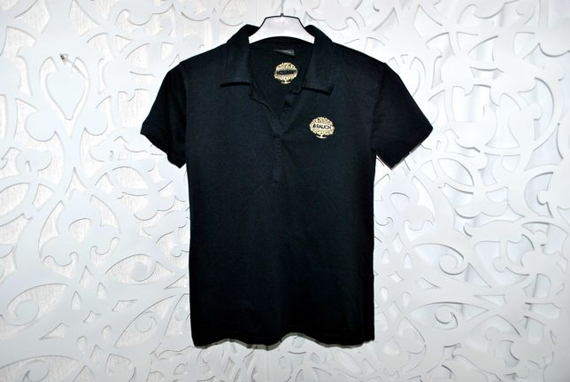 Футболка из Австрии Polo  M черная стильная люкс burton brunello