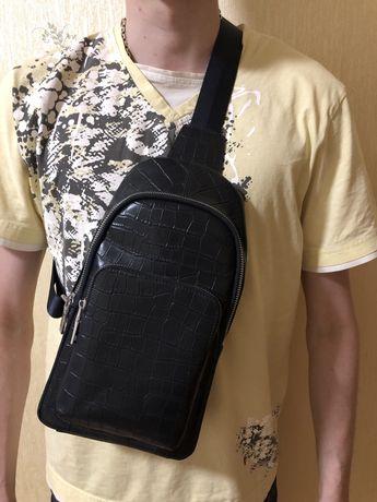 Нагрудная сумка мужская miraton