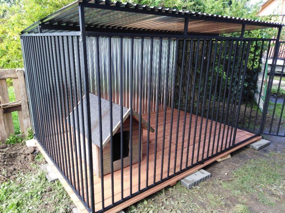 Kojce Klatki Boksy Kojec dla psa 4x2,5m Koprzywnica - image 1