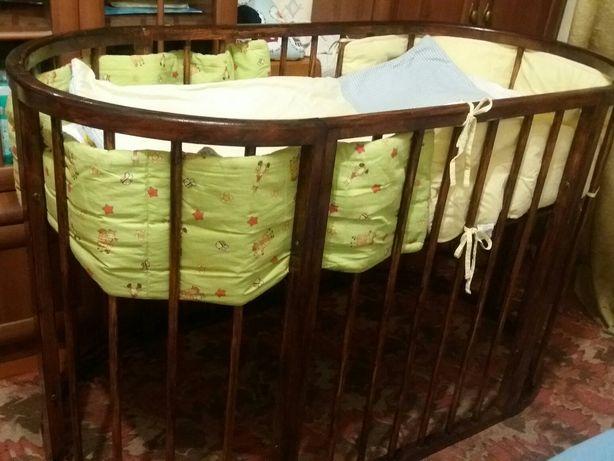 Дитяче ліжко овальне (кругле)