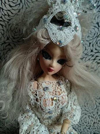 Кукла авторская из полимерной глины.