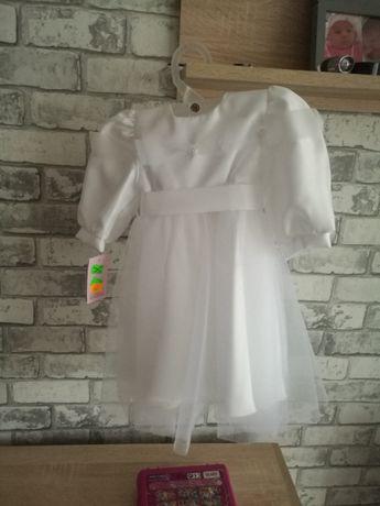 Sukienka do chrztu roz. 74
