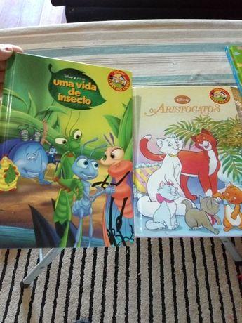 Livros coleção Disney