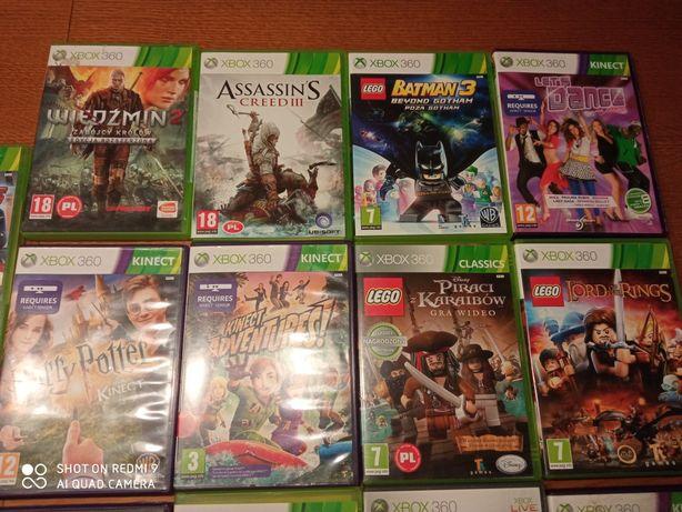 Gry Xbox 360 GTA Minecraft wiedźmin