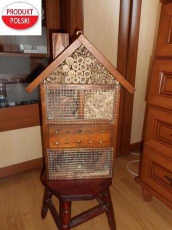 budka lęgowa Domek dla owadów i pszczół 26x10x52cm Najtaniej