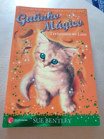 Livro gatinho mágico